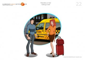 Cours 22 - Prendre un taxi / Taking a taxi